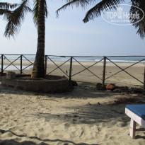 Morjim Coco Palms 3* Пляж - Фото отеля
