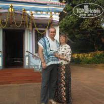 Morjim Coco Palms 3* Храм бога Ганеша - Фото отеля