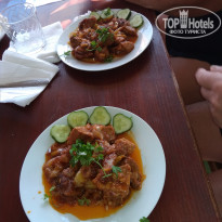 Солнечный мясо по абхазки в кафе - Фото отеля