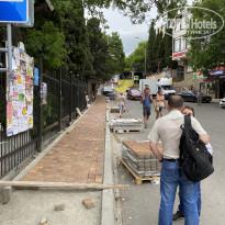 Мисхор тротуары у санатория - Фото отеля